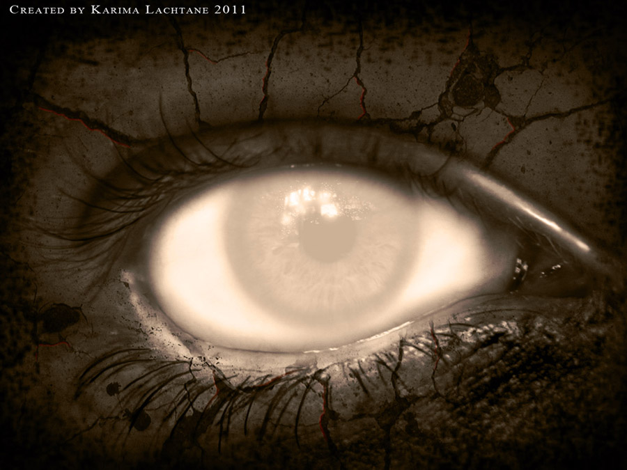 Mysterious Eye By Karima